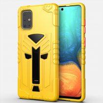 RMPACK Samsung Galaxy A71 Ütésálló Tok KingKong Edition Hybrid Sárga