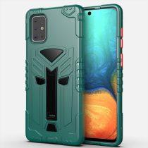 RMPACK Samsung Galaxy A71 Ütésálló Tok KingKong Edition Hybrid Zöld