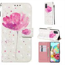 RMPACK Samsung Galaxy A71 Tok Bankkártyatartóval Notesz Mintás Kitámasztható -RMPACK- Life&Dreams LD02