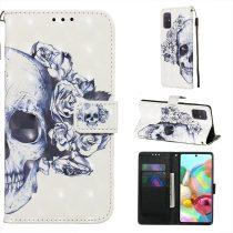 RMPACK Samsung Galaxy A71 Tok Bankkártyatartóval Notesz Mintás Kitámasztható -RMPACK- Life&Dreams LD03