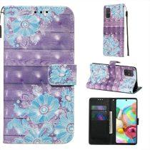 RMPACK Samsung Galaxy A71 Tok Bankkártyatartóval Notesz Mintás Kitámasztható -RMPACK- Life&Dreams LD04