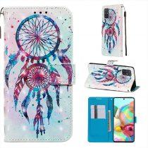 RMPACK Samsung Galaxy A71 Tok Bankkártyatartóval Notesz Mintás Kitámasztható -RMPACK- Life&Dreams LD05