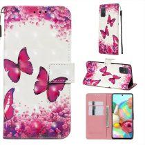 RMPACK Samsung Galaxy A71 Tok Bankkártyatartóval Notesz Mintás Kitámasztható -RMPACK- Life&Dreams LD06