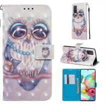 RMPACK Samsung Galaxy A71 Tok Bankkártyatartóval Notesz Mintás Kitámasztható -RMPACK- Life&Dreams LD10