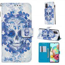 RMPACK Samsung Galaxy A71 Tok Bankkártyatartóval Notesz Mintás Kitámasztható -RMPACK- Life&Dreams LD11