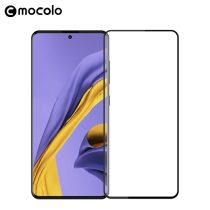 Samsung Galaxy A71 Tempered Glass - Képernyővédő Üveg 3D - Full Size - MOCOLO Fekete