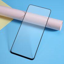 Samsung Galaxy A80 Kijelzővédő Üveg - Tempered Glass -FULL 3D- Fekete
