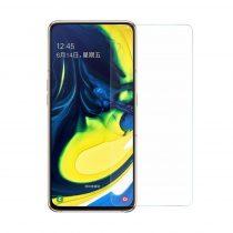 Samsung Galaxy A80 Tempered Glass - Képernyővédő Üveg 0.3mm