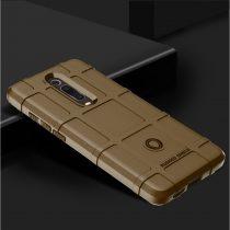 RMPACK Xiaomi Mi 9T Mi 9T Pro Ütésálló Tok Anti-Shock Series Rugged Shield -RMPACK- Barna