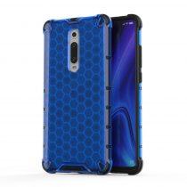 RMPACK Xiaomi Mi 9T Mi 9T Pro Shock-Proof Szilikon Tok Ütésálló Kivitel Honeycomb Style Kék