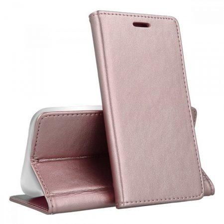 RMPACK Samsung Galaxy A51 Notesz Tok Prémium MagnetBook Series RoseGold