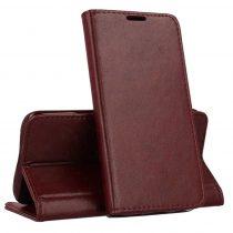 RMPACK Samsung Galaxy A51 Notesz Tok Prémium MagnetBook Series Burgundi