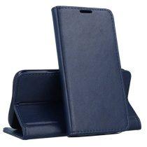 RMPACK Samsung Galaxy A71 Notesz Tok Prémium MagnetBook Series Sötétkék
