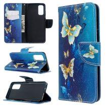 RMPACK Samsung Galaxy S20 Tok Bankkártyatartóval Notesz Mintás Kitámasztható -RMPACK- Dreams&BigCity LD06