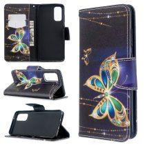 RMPACK Samsung Galaxy S20 Tok Bankkártyatartóval Notesz Mintás Kitámasztható -RMPACK- Dreams&BigCity LD07