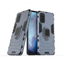 RMPACK Samsung Galaxy S20 Ütésálló Tok Ring Armor 2in1 TPU Hybrid Kék