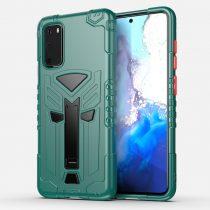 RMPACK Samsung Galaxy S20 Ütésálló Tok KingKong Edition Hybrid Zöld
