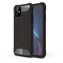 RMPACK iPhone 11 Ütésálló Tok TPU 2in1 Hybrid Fekete