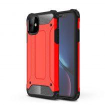 RMPACK iPhone 11 Ütésálló Tok TPU 2in1 Hybrid Piros