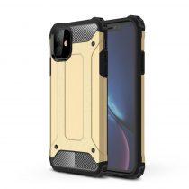 RMPACK iPhone 11 Ütésálló Tok TPU 2in1 Hybrid Arany