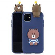 RMPACK iPhone 11 Szilikon Tok 3D Cuki Style Medve