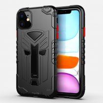 RMPACK iPhone 11 Ütésálló Tok Transformer Hybrid 2in1 Kitámasztható Fekete