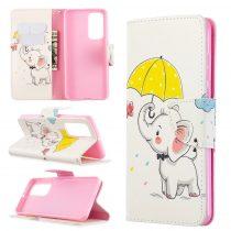 RMPACK Huawei P40 Bankkártyatartóval Notesz Mintás Kitámasztható -RMPACK- Life&Dreams LD01