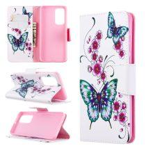 RMPACK Huawei P40 Bankkártyatartóval Notesz Mintás Kitámasztható -RMPACK- Life&Dreams LD02