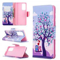 RMPACK Huawei P40 Bankkártyatartóval Notesz Mintás Kitámasztható -RMPACK- Life&Dreams LD03