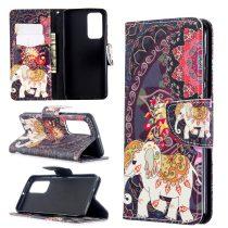 RMPACK Huawei P40 Bankkártyatartóval Notesz Mintás Kitámasztható -RMPACK- Life&Dreams LD04