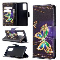RMPACK Huawei P40 Bankkártyatartóval Notesz Mintás Kitámasztható -RMPACK- Life&Dreams LD06