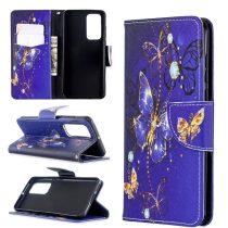 RMPACK Huawei P40 Bankkártyatartóval Notesz Mintás Kitámasztható -RMPACK- Life&Dreams LD08