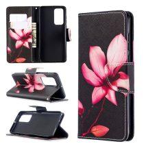 RMPACK Huawei P40 Bankkártyatartóval Notesz Mintás Kitámasztható -RMPACK- Life&Dreams LD09