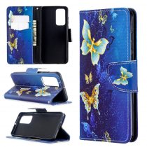 RMPACK Huawei P40 Bankkártyatartóval Notesz Mintás Kitámasztható -RMPACK- Life&Dreams LD10
