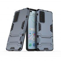 RMPACK Huawei P40 2in1 Tok Ütésálló - Kitámasztható TPU Hybrid Sötétkék