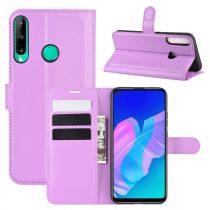 RMPACK Huawei P40 Lite E Notesz Tok Business Series Kitámasztható Bankkártyatartóval Lila