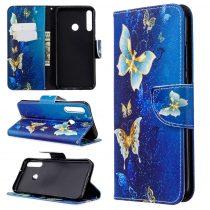 RMPACK Huawei P40 Lite E Tok Bankkártyatartóval Notesz Mintás Kitámasztható -RMPACK- Life&Dreams LD01