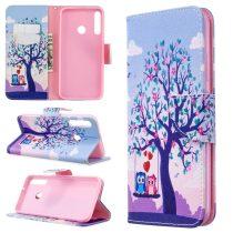 RMPACK Huawei P40 Lite E Tok Bankkártyatartóval Notesz Mintás Kitámasztható -RMPACK- Life&Dreams LD03