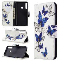 RMPACK Huawei P40 Lite E Tok Bankkártyatartóval Notesz Mintás Kitámasztható -RMPACK- Life&Dreams LD04