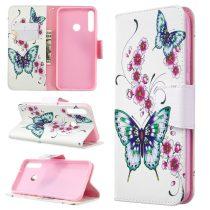 RMPACK Huawei P40 Lite E Tok Bankkártyatartóval Notesz Mintás Kitámasztható -RMPACK- Life&Dreams LD05