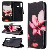 RMPACK Huawei P40 Lite E Tok Bankkártyatartóval Notesz Mintás Kitámasztható -RMPACK- Life&Dreams LD07