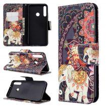 RMPACK Huawei P40 Lite E Tok Bankkártyatartóval Notesz Mintás Kitámasztható -RMPACK- Life&Dreams LD08
