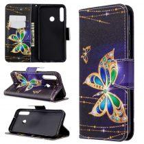 RMPACK Huawei P40 Lite E Tok Bankkártyatartóval Notesz Mintás Kitámasztható -RMPACK- Life&Dreams LD09