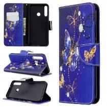 RMPACK Huawei P40 Lite E Tok Bankkártyatartóval Notesz Mintás Kitámasztható -RMPACK- Life&Dreams LD10