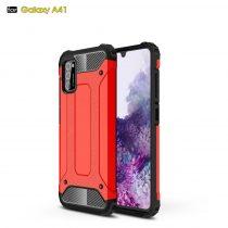 RMPACK Samsung Galaxy A41 Ütésálló Armor Tok Guard Series 2in1 Piros
