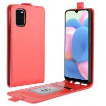 RMPACK Samsung Galaxy A41 Flip Tok Mágneses Piros