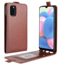 RMPACK Samsung Galaxy A41 Flip Tok Mágneses Barna