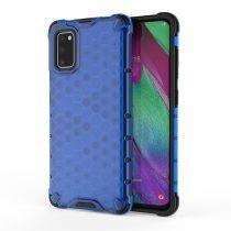RMPACK Samsung Galaxy A41 Shock-Proof Szilikon Tok Ütésálló Kivitel Honeycomb Style Kék