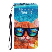 RMPACK Samsung Galaxy A41 Bankkártyatartóval Notesz Mintás Kitámasztható -RMPACK- Life&Dreams LD06