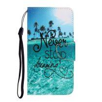 RMPACK Samsung Galaxy A41 Bankkártyatartóval Notesz Mintás Kitámasztható -RMPACK- Life&Dreams LD09